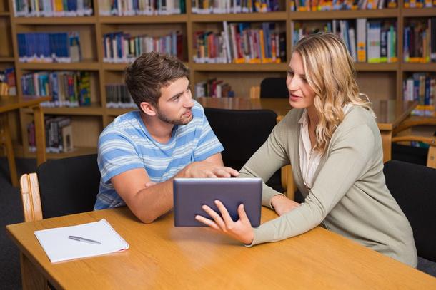 два преподавателя проходят курс обучения по скайпу