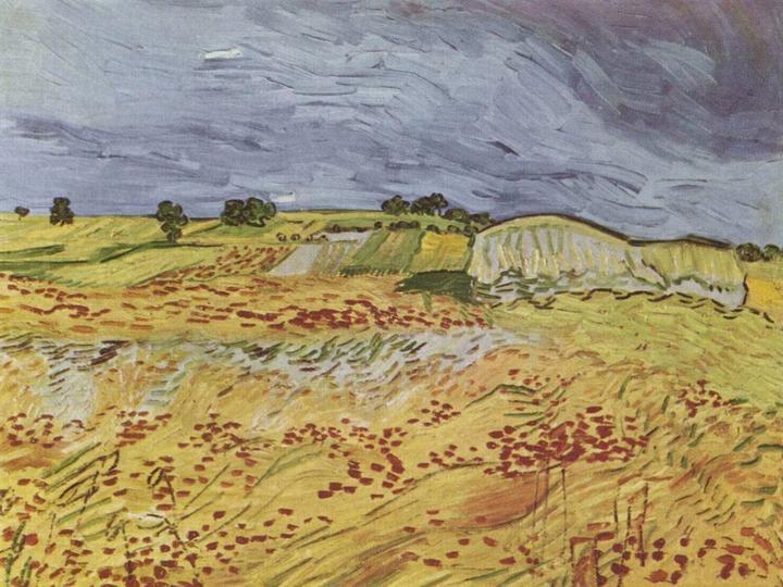 Пейзаж близ Овера - Ван Гог
