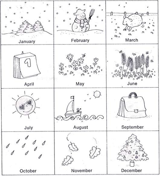времена года урок английского языка