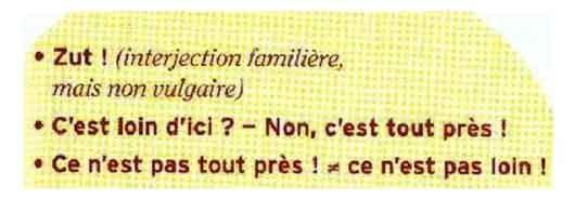 Диалог на французском языке