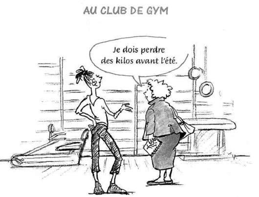 Диалоги на французском о спорте