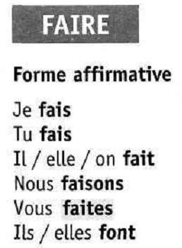 Глаголы 3 группы французский