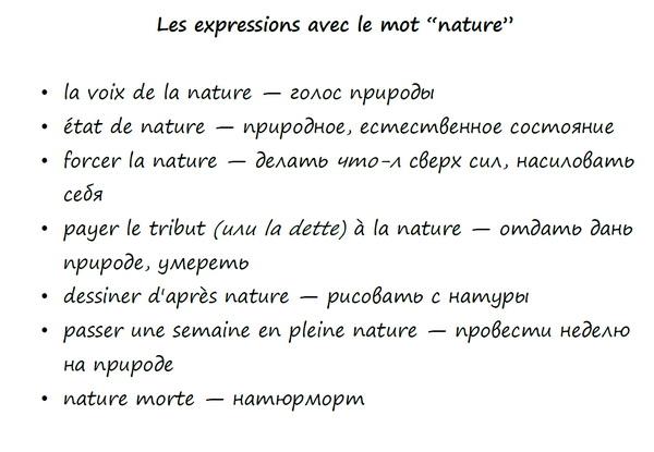 тема по французскому языку